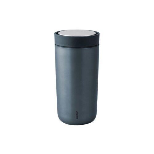 Stelton Thermobecher »Trinkbecher To Go Click 0.34 l, metallic blau«