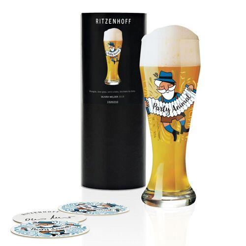 Ritzenhoff Bierglas »Weizenbierglas Oliver Melzer 500 ml«