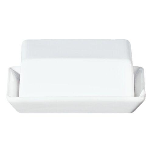 ASA SELECTION Butterdose »Grande Weiß B 13.5 cm«, Keramik, (1-tlg)