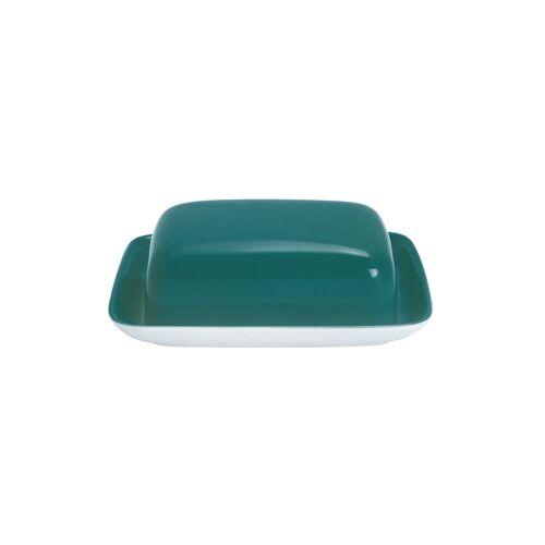Kahla Butterdose »Butterdose Pronto Colore«, Porzellan, (1-tlg), Opalgrün