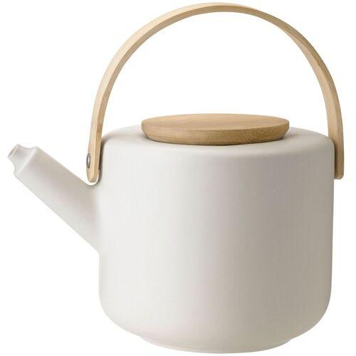 Stelton Teekanne »Theo Teekanne aus Steingut sand 1,25 Liter«