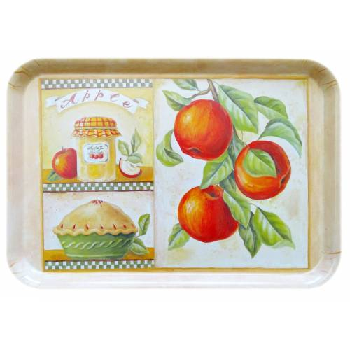 Lashuma Tablett, Melamin, (1-tlg), Geschirr Tablett 45 x 31 cm, Serviertablett eckig