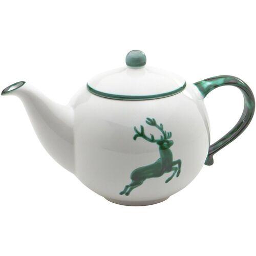 Gmundner Keramik Teekanne »Teekanne Hirsch 1,5 l«, Grün