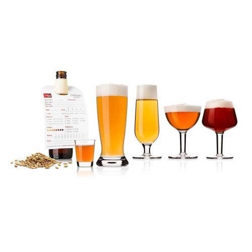 VACUVIN Bierglas »Bierprobe Glasset mit 2 x 5 Gläsern von Vacu Vin« (10-tlg)