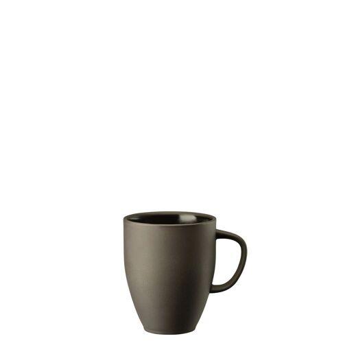Rosenthal Becher »Junto Slate Grey Becher mit Henkel« (1-tlg), Steinzeug