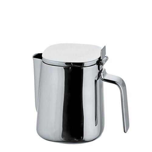 Alessi Milchkännchen »Milchkännchen mit Deckel Edelstahl poliert 20cl«, 0.2 l