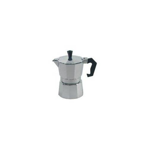 Krüger Druckbrüh-Kaffeemaschine 502, Aluminium, für 6 Tassen