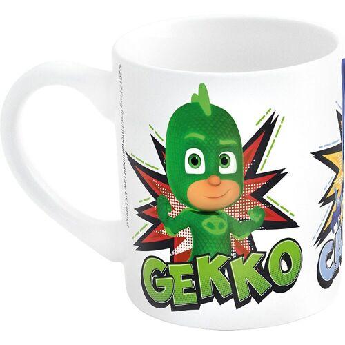 p:os Tasse »Tasse Keramik Die Eiskönigin Olaf, 200 ml«, blau/grün