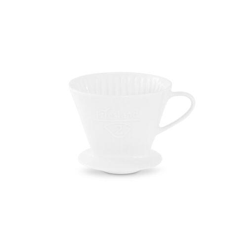 Friesland Porzellan Kaffeebereiter Friesland Kaffeefilter Gr. 2 Weiß Porzellan