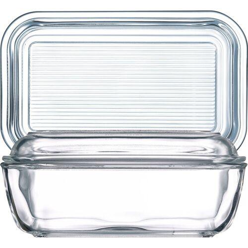 Luminarc Butterdose »Helper«, Glas, Butterdose 10.5x17cm Glas transparent 1 Stück