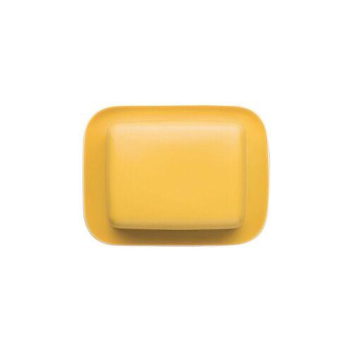Thomas Porzellan Butterdose »Sunny Day Yellow Butterdose 250 gr.«, Porzellan, (2-tlg)