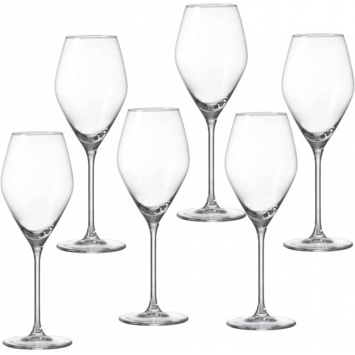 Ritzenhoff & Breker Weißweinglas »Salsa« (6-tlg), robust und kristallklar