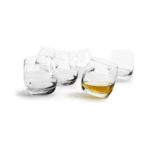 Sagaform Whiskyglas »Bar Rocking« (6-tlg), je 200 ml