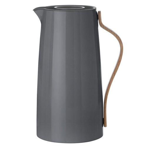 Stelton Isolierkanne »Emma Isolierkanne Kaffee 1,2 L grau Kaffeekanne x-200-1«