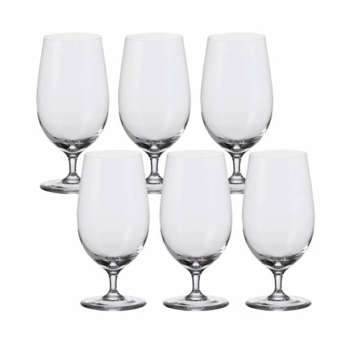 LEONARDO Bierglas »Bier Glas, 6er-Set Ciao+« (6-tlg), Glas