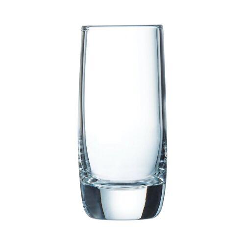Chef & Sommelier Schnapsglas »Vigne«, Likörglas Schnapsglas 60ml Glas transparent 6 Stück