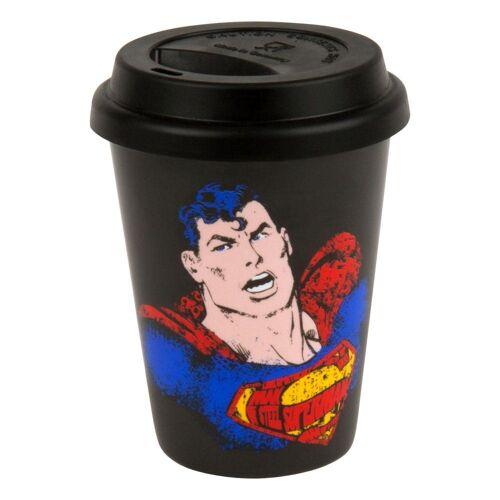 Könitz Coffee-to-go-Becher »Superman Text Art 380 ml«