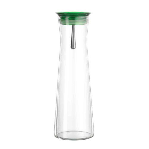 SIMAX Wasserkaraffe »Glas Karaffe Indis mit Ausgießer grün 1100ml«