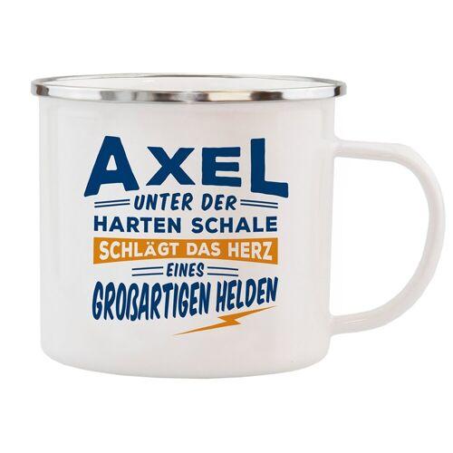 HTI-Living Becher »Echter Kerl Emaille Becher Axel«