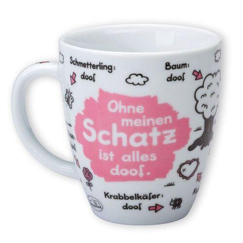 """Sheepworld Tasse »- Tasse """"Ohne ... ist alles doof"""" 0,5l ODIAD Geschenk Kaffee- Tasse Motiv: Schatz«, Schatz"""