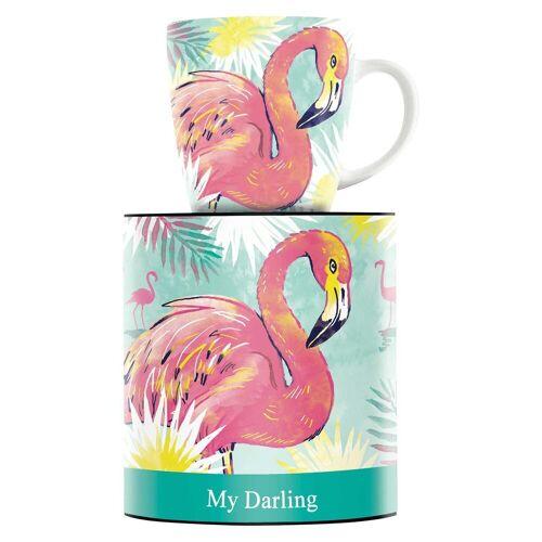 Ritzenhoff Becher »My Darling Kaffeebecher Flamingo« (1-tlg)