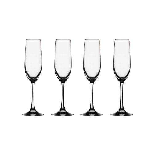 SPIEGELAU Gläser-Set »Vino Grande Sektkelch 4er Set«, Kristallglas