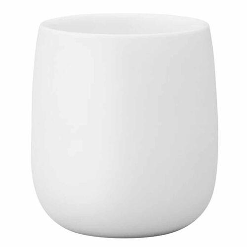 Stelton Becher »Norman Foster 0,2 Liter Thermobecher aus weißem Porzellan«