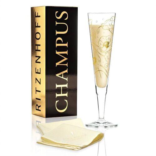 Ritzenhoff Champagnerglas »Champus Champagnerglas von Shari Warren«, Glas