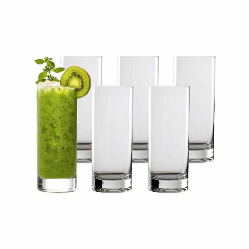 Stölzle Longdrinkglas »NEW YORK BAR Longdrinkbecher 405 ml 6er Set« (6-tlg)