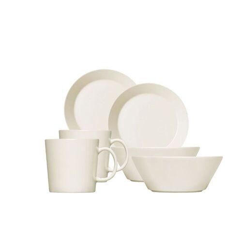 iittala Geschirr-Set »Teema Frühstücksset, weiß, 6-tlg.« (6-tlg), vitro-porzellan