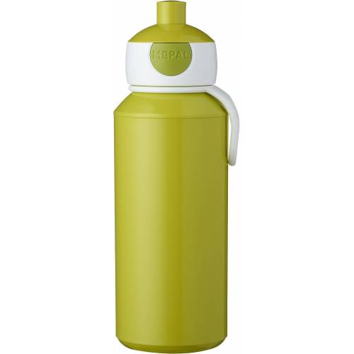 Rosti Mepal Trinkflasche »Trinkflasche pop-up campus lime, 400 ml«, lime