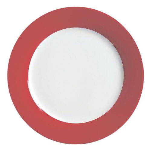 Ritzenhoff & Breker Single Geschirr-Set »Doppio« (4-tlg), Porzellan, rot