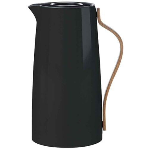Stelton Isolierkanne »Emma Isolierkanne für Kaffee 1.2 Liter schwarz Kaffeekanne«