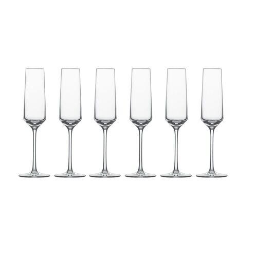 SCHOTT-ZWIESEL Sektglas »Sektglas 6er-Set Pure« (6-tlg), TRITAN -Kristallglas