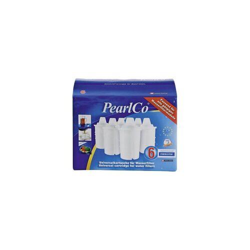"PearlCo Wasserfilter 6er-Set Nachfüll Wasserfilter-Kartusche ""Classic"""