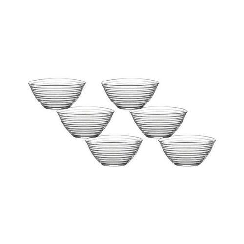 LAV Dessertschale »Glasschalen Dessertschale Vorspeise Gläser 200 cc«, Glas, (6-tlg)