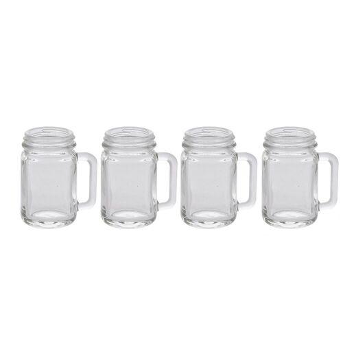 HTI-Living Schnapsglas »Schnapsgläser mit Henkel 4er Set«