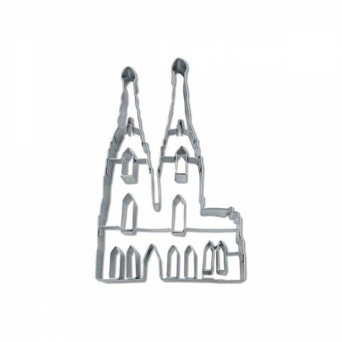 "STÄDTER Ausstechform »Ausstechform ""Kölner Dom"", ca. 12 cm«"