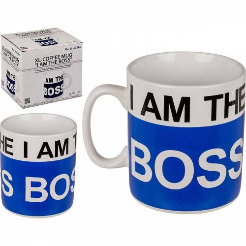 "Out of the Blue Becher »Becher ""I am the Boss""«"