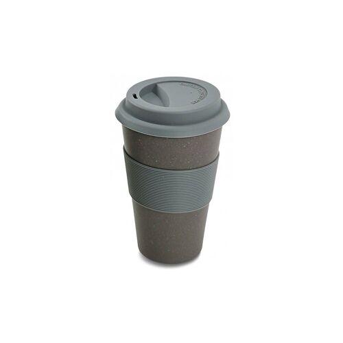 "Magu Tasse »Travel Mug ""Natur Design""«, grau"