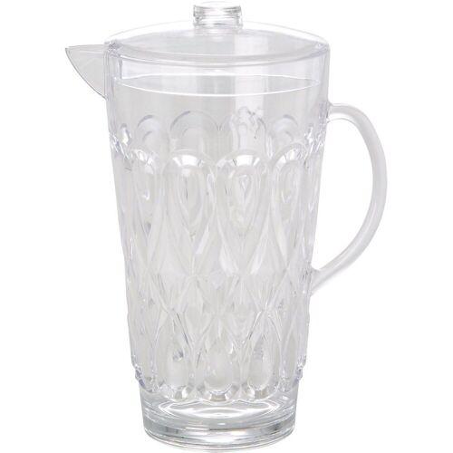 """rice Wasserkrug »Acryl Krug """"Swirly"""", 2L, Ø14 x H27 cm«"""