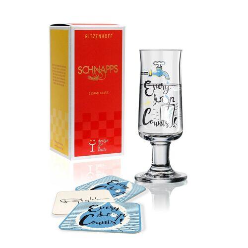 Ritzenhoff Schnapsglas »Schnapps Schnapsglas D. Przybylska Every drop F18«
