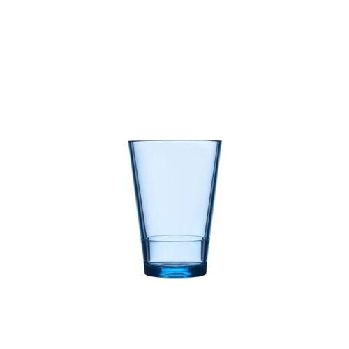 Mepal Becher »Kunststoff Becher Kunststoffglas Flow« (1-tlg), Kunststoff, Nordic Blue