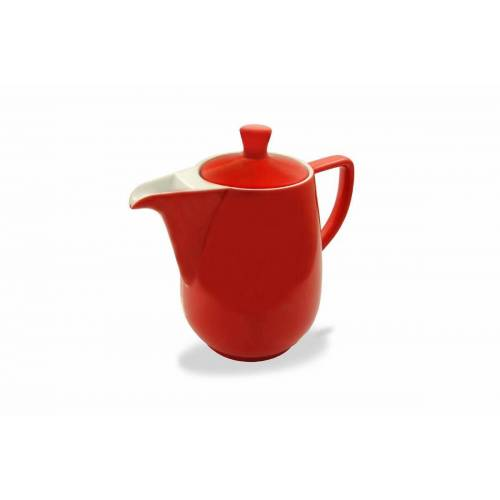 Friesland Porzellan Kaffeekanne »Friesland Kaffeekanne 0,6l Rot Porzellan«, 0,6 l