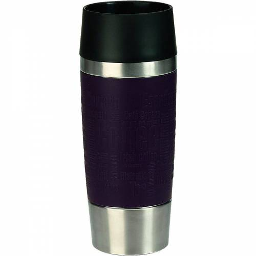 "Emsa Tasse »Isolierbecher ""Travel Mug"", 0,36 L«, lila"