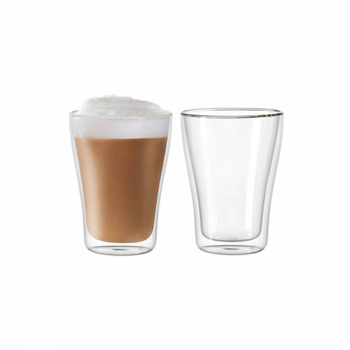 LEONARDO Thermoglas »DUO Thermoglas 250 ml 2er Set« (2-tlg), Glas