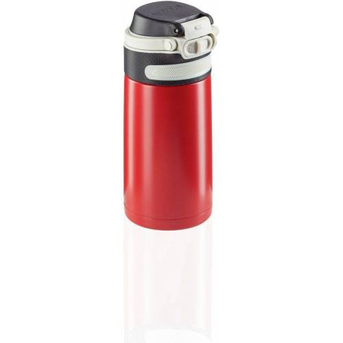 Leifheit Thermoflasche »Flip«, 350 ml, rot