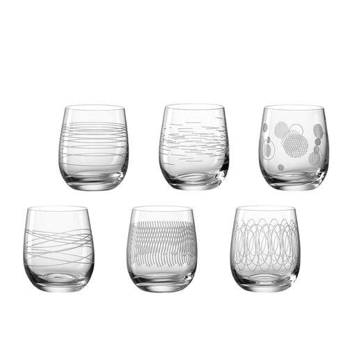 LEONARDO Gläser-Set »CASELLA Trinkglas 300ml sortiert 6er Set« (6-tlg), Glas