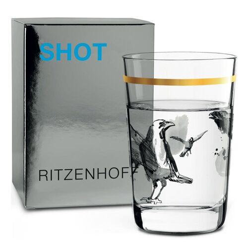 Ritzenhoff Schnapsglas »Next Shot Peter Pichler Raben 40 ml«