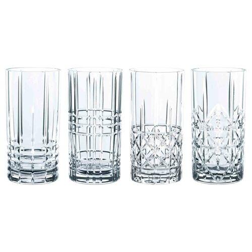 Nachtmann Longdrinkglas »Highland Glas Longdrink 4er Set« (4-tlg)